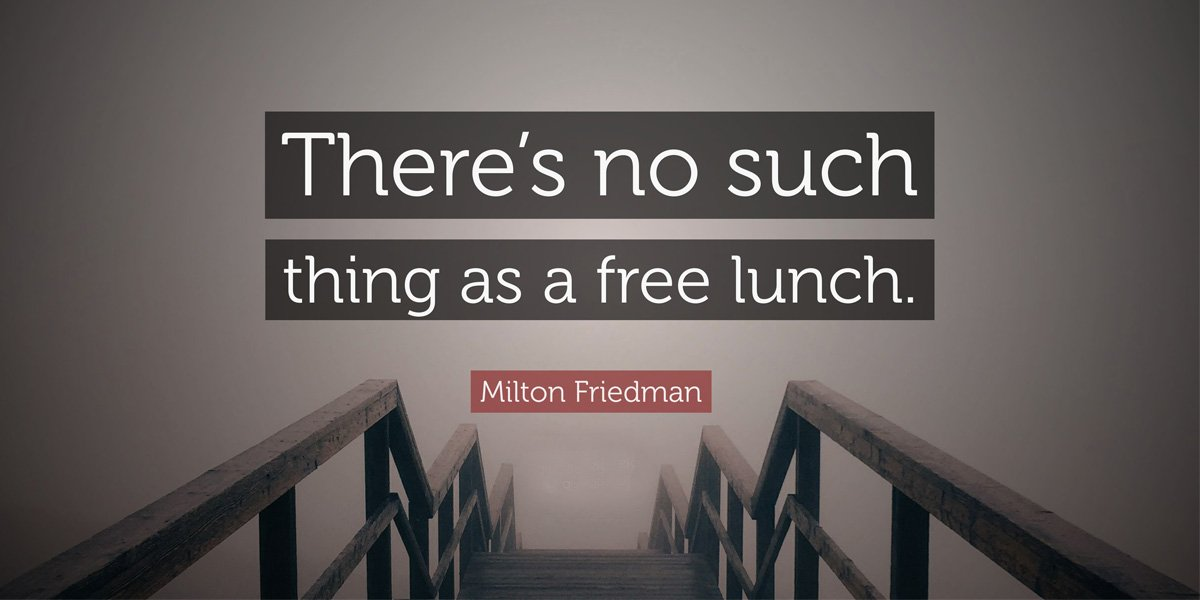 No Free Lunch